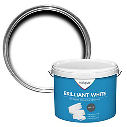 Valspar White Matt Emulsion Paint 10L
