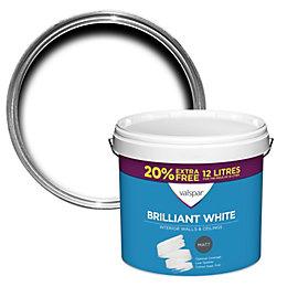 Valspar White Matt Emulsion paint 12 L