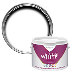 Valspar White Soft Sheen Emulsion Paint 2.5L