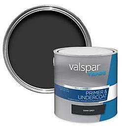 Valspar Trade Dark Grey Smooth Matt Primer 2.5L