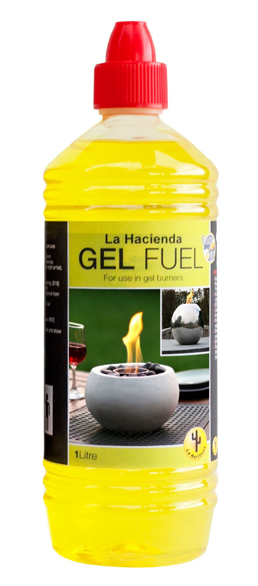La Hacienda Gel Fuel 1l Departments Diy At B Amp Q