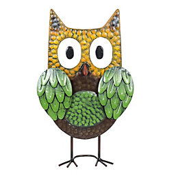 La Hacienda Woodland owl Garden ornament
