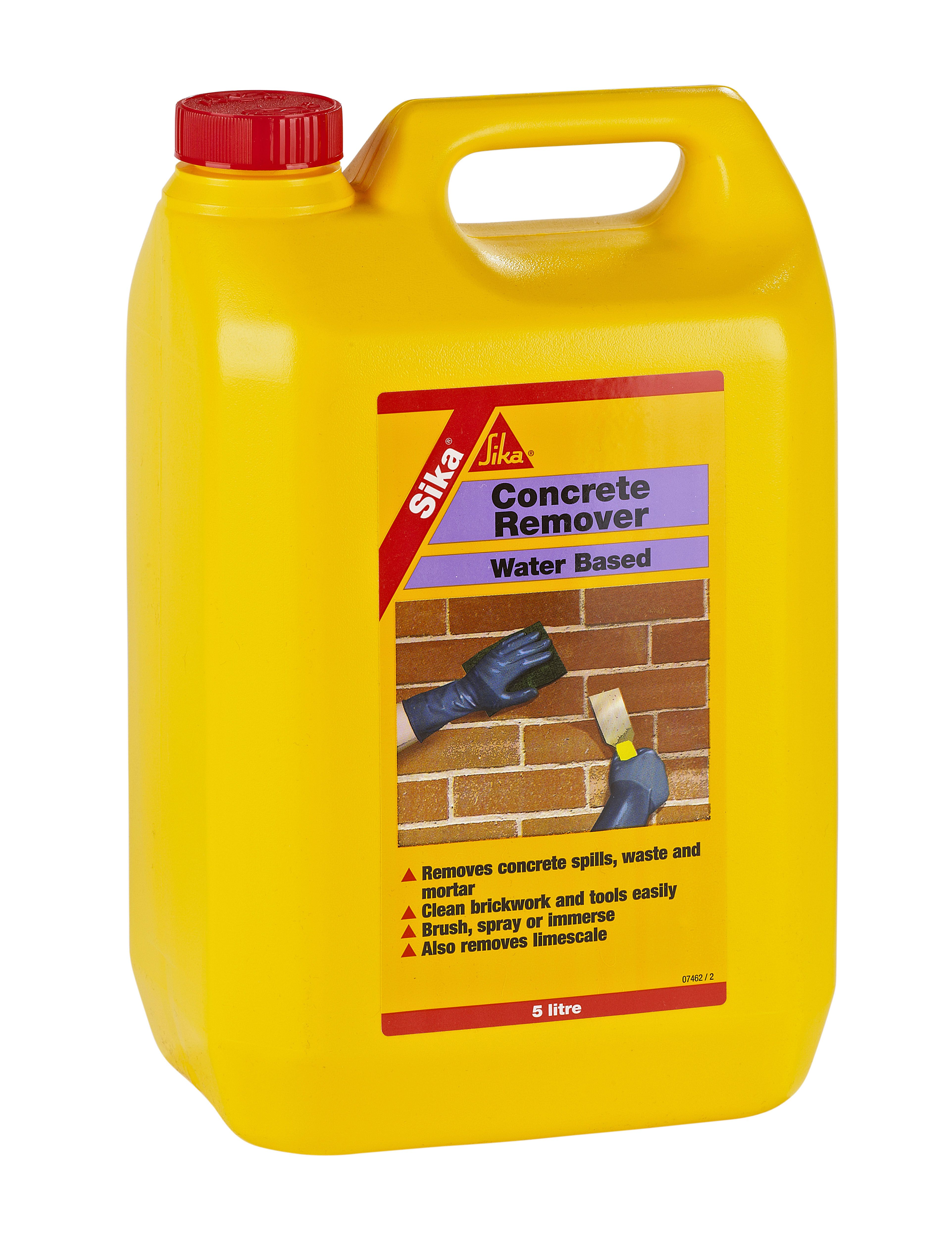 Sika Clear Concrete remover 5000ml | Departments | DIY at B&Q