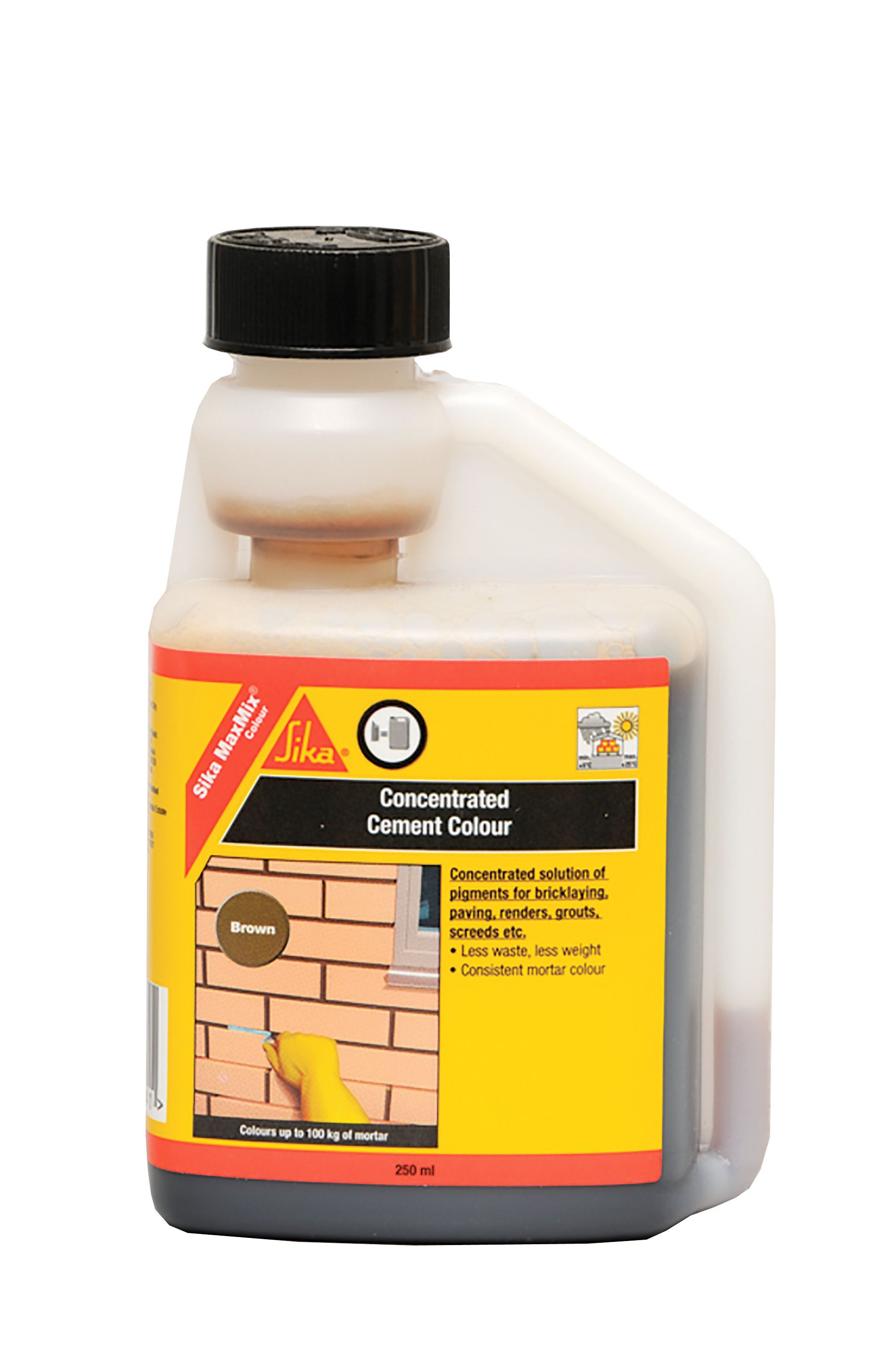 Sika Brown Concentrated Cement Colourant 250ml | Departments | DIY ...