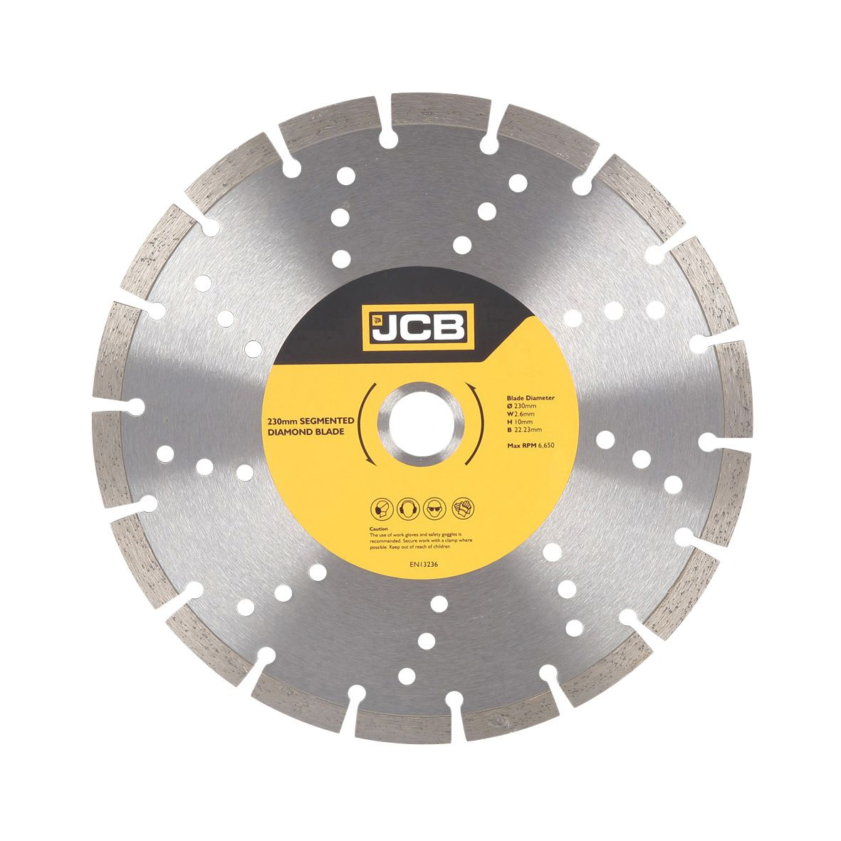 Jcb Dia 230mm Segmented Rim Diamond Blade Departments