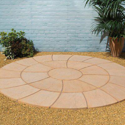 York Gold Abbey Twist Circle Kit (L)2.4 (W)2.4m Pack Of 25, 4.52 M² (D)2.4m  | Departments | DIY At Bu0026Q