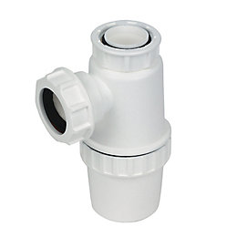 Floplast Standard Bottle Trap (Dia)32mm