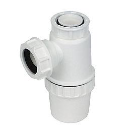 Floplast Waste Bottle Trap (Dia)40mm