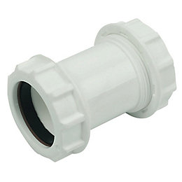 Floplast Compression Universal Flexible Waste Pipe (Dia)32mm,