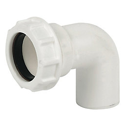 Floplast Compression Universal Waste Conversion Bend (Dia)40mm,