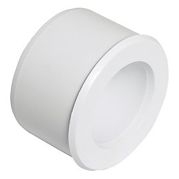 Floplast ABS Solvent Weld Waste Reducer (Dia)40mm, White
