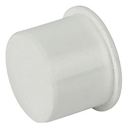 Floplast Push Fit Waste Socket Plug (Dia)32mm, White
