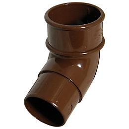 Floplast Miniflo 112.5 ° Gutter Downpipe Offset Bend