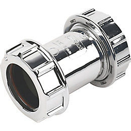 Floplast Compression Waste Coupling (Dia)32mm