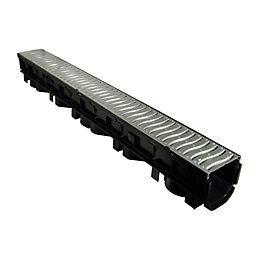 Floplast Polypropylene & Galvanised Steel Channel Drainage