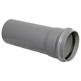 Floplast Ring Seal Soil Single Socket Pipe (Dia)110mm,