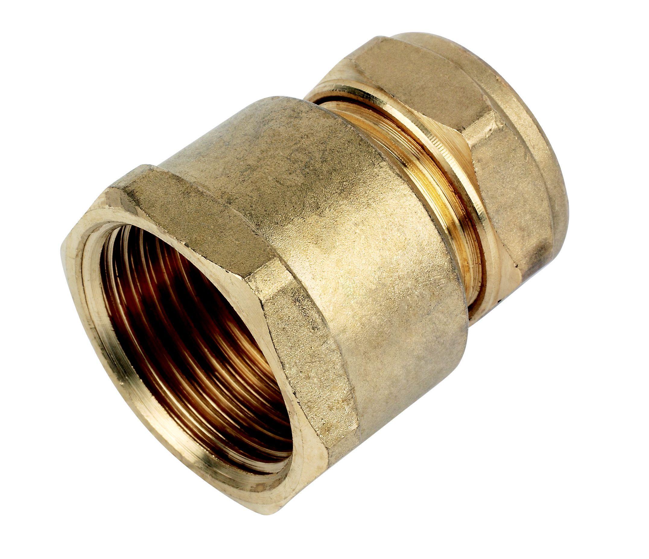 Plumbsure Compression Coupler Dia 22mm Departments