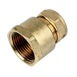 Plumbsure Compression Coupler (Dia)22mm