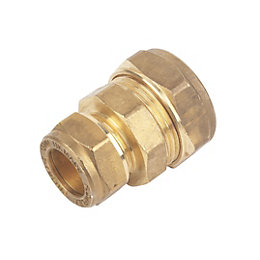 Plumbsure Compression Reducing Coupler Fitting (Dia)22mm