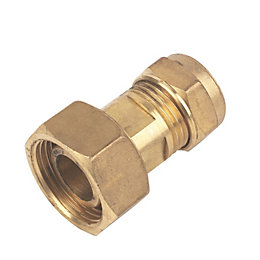 Plumbsure Compression Straight Tap Connector