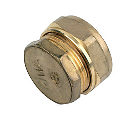 Plumbsure Compression Stop End (Dia)28mm
