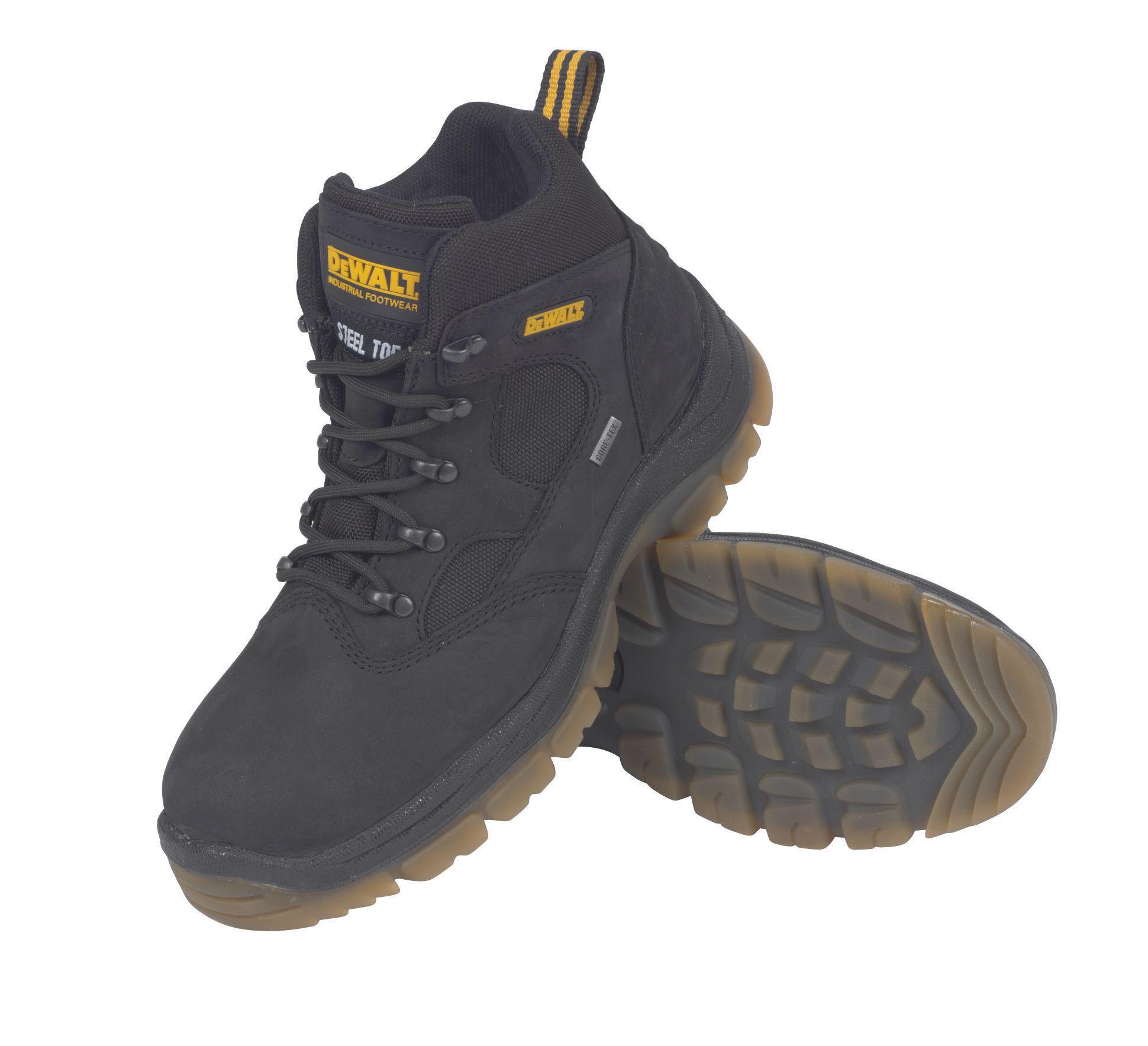 e8a3586b299 DeWalt Challenger Titanium tan Safety boots, Size 9 | Departments | DIY at  B&Q