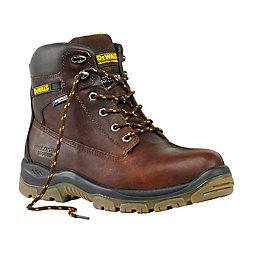 DeWalt Titanium Tan Boots, Size 8