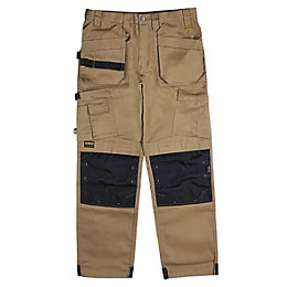 DeWalt Pro tradesman Brown Trousers W38 L31""