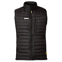 DeWalt Force Black Showerproof Gilet Large