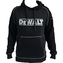 DeWalt Grey Hooded Sweatshirt Medium