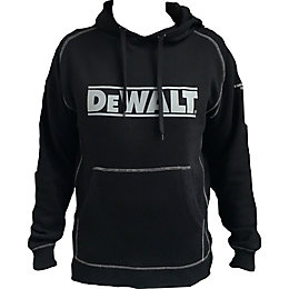 DeWalt Heritage Black Hooded sweatshirt Extra large