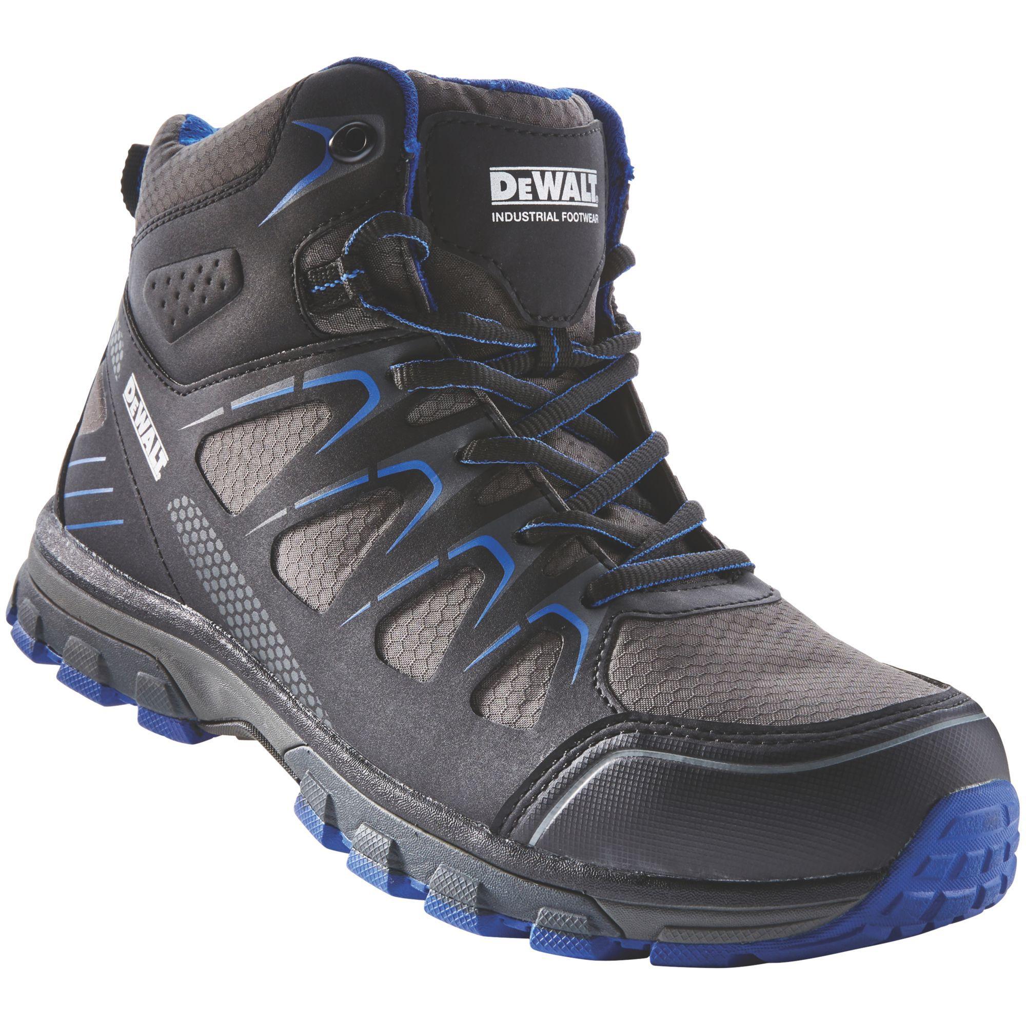 cc231fb94d0 DeWalt Oxygen Black & blue Trainer boot, Size 8 | Departments | DIY at B&Q