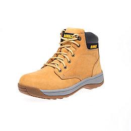 DeWalt Honey Craftsman Safety boot, size 7