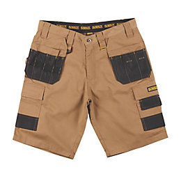 DeWalt Heritage Brown Shorts W36 L10