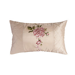 Chartwell Ava Floral Natural & Pink Cushion
