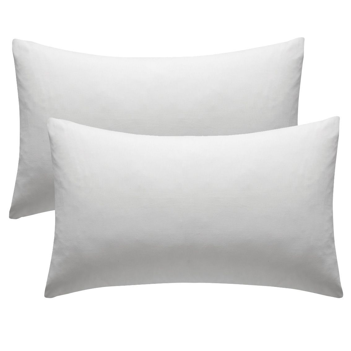 Chartwell Plain Housewife White Pillow case, Pack of 2 | Departments ...