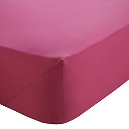 Chartwell Hot Pink Single Fitted Sheet