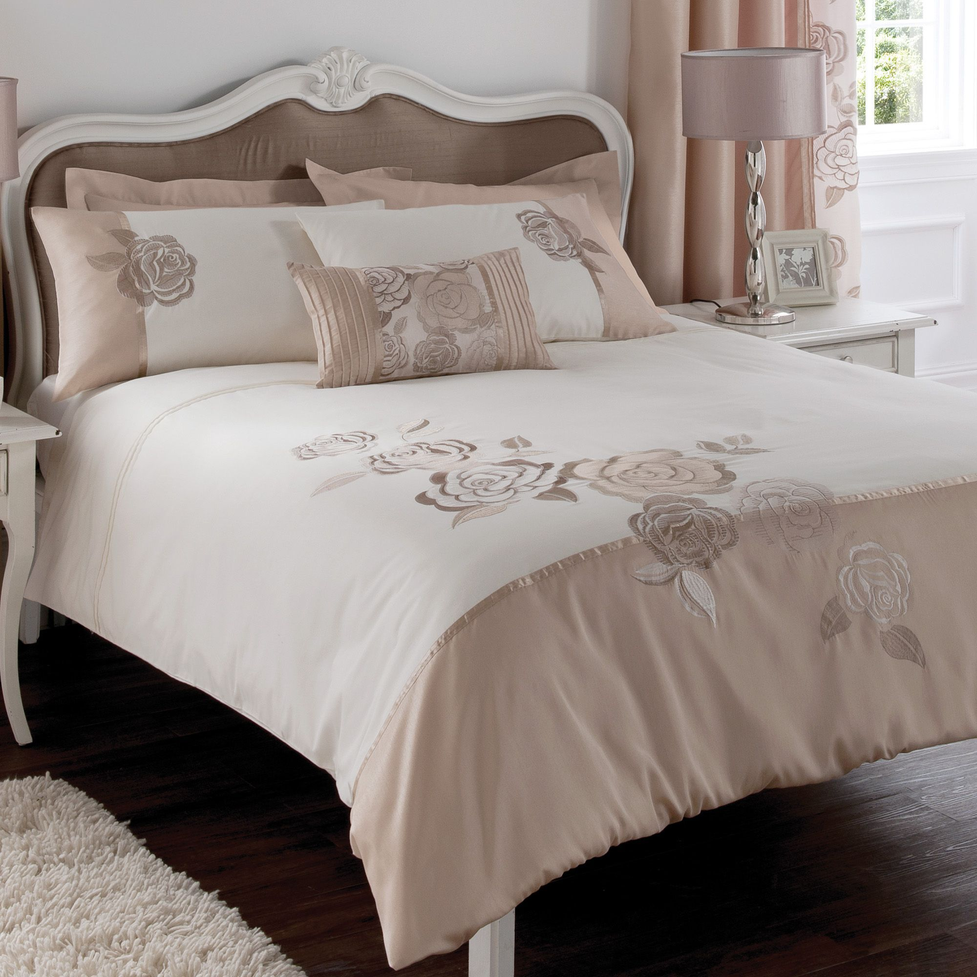 Chartwell Rosa Floral Pink & white Single Bed