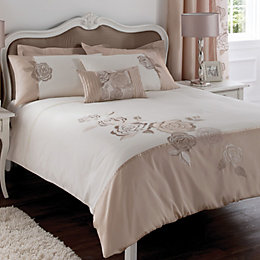 Chartwell Rosa Floral Pink & White Double Bed