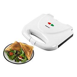 Elgento Sandwich Maker, White