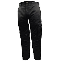 "Stanley Phoenix Black Work Trousers W38"" L31"""