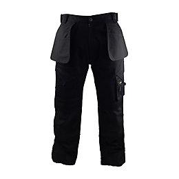 "Stanley Colorado Black Work Trousers W36"" L31"""