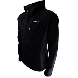 Stanley Andes Black Softshell jacket Large