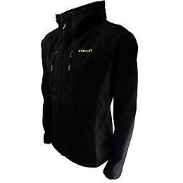 Stanley Austin Black Softshell Jacket Large