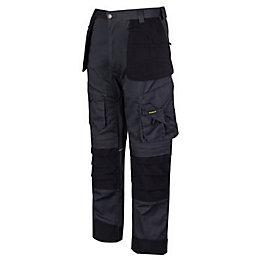 "Stanley Colorado Grey Work Trousers W34"" L33"""