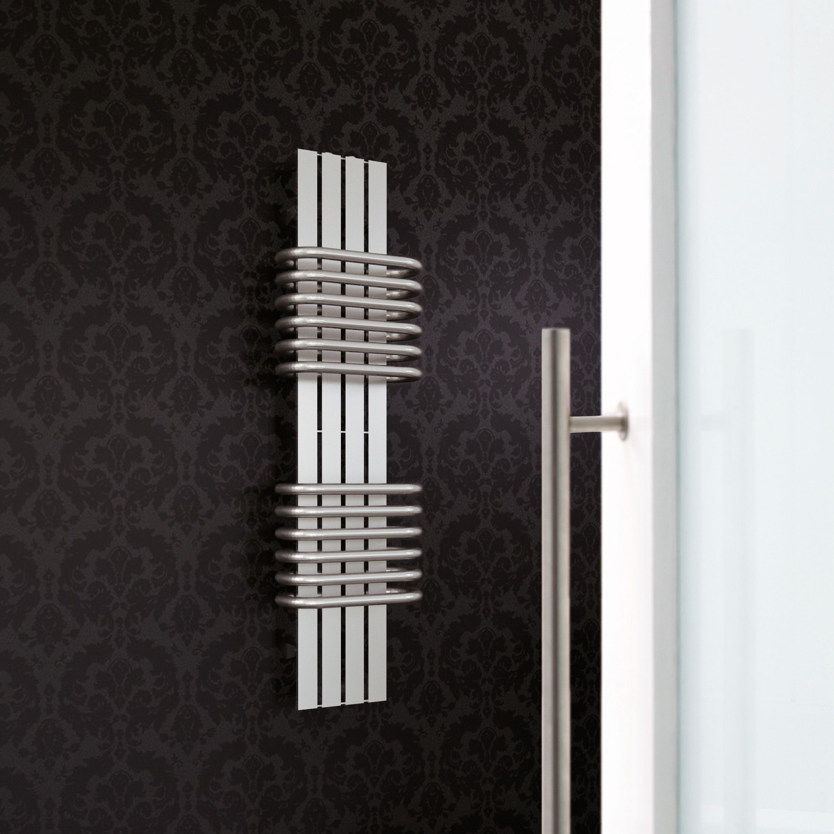 Magnifico Vertical Radiator Brushed (H)1060 mm (W)300 mm