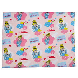 Disney Pink Princess Cinderella Fleece Blanket