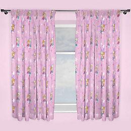 Frozen Multicolour Pencil pleat Children's curtains (W)168 cm