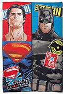 Multicolour Batman v Superman: Dawn of Justice Fleece Blanket