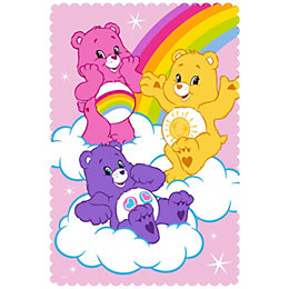 Care bear Multicolour Fleece Blanket